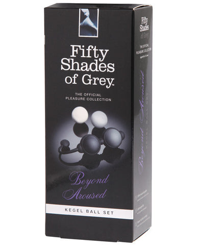 Fifty Shades of Grey Beyond Aroused Kegel Balls , Fifty Shades of Grey - Hush Hush Intimates, Hush Hush Intimates  - 1