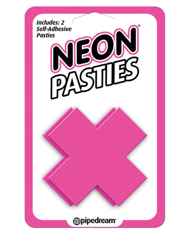 Neon X-shaped Pasties
