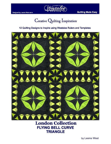 London Collection Flying Bell Curve Triangles: 12 Bell Curve Triangle Designs Book