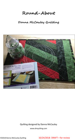 Round-About Placemat Project by Donna McCauley