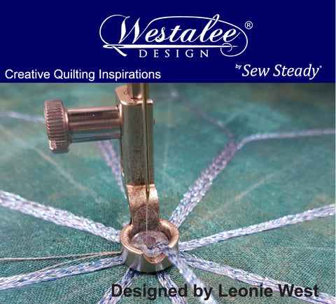 Westalee Design Decorative Thread Ruler Foot