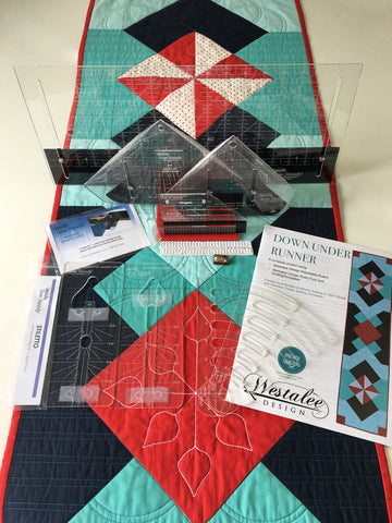 Down Under Table Runner 15pc Patchwork and Quilting Project Kit
