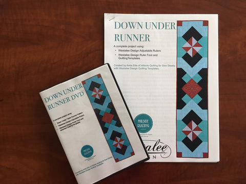 Down Under Table Runner DVD and Pattern Project