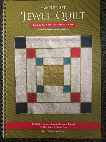 Jewel Quilt Book By Angela Attwood Sew Steady