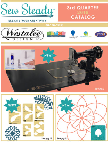 Sew Steady Quarterly Catalog