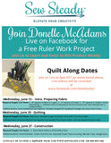 Quilt-A-Long with Donelle McAdams (QAL)