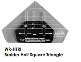 Braider Half Sq & Qtr Sq Triangles