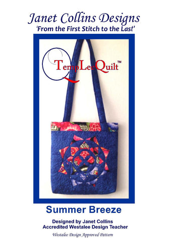 Summer Breeze Bag Pattern - By Janet Collins