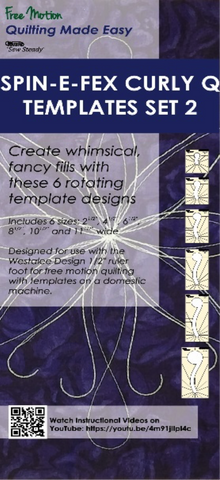 Spin-E-Fex Curly Q Templates Set 2