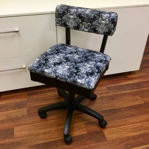 Arrow Hydraulic Sewing Chair: Wicked