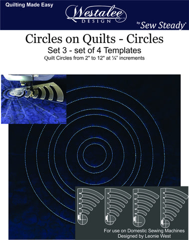 Circles On Quilts Template Sets (#'s 1-3)