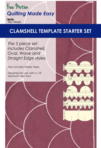 Clamshell Template Starter Set - 5 Piece