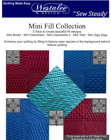 Westalee Design Mini Fills Collection - 5 PC Set