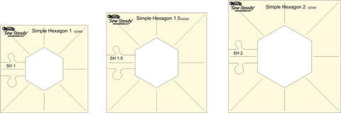 Westalee Design Simple Hexagons