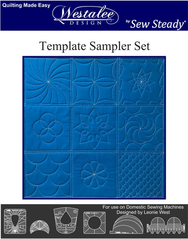 Westlee Design Sampler Template Set 1