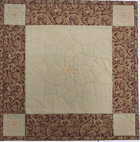 "Quilt-A-Long 25"" Square Table Mat with Donelle McAdams (QAL)"