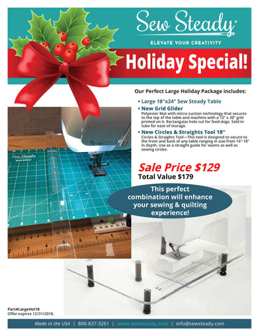 Large Table Holiday Package