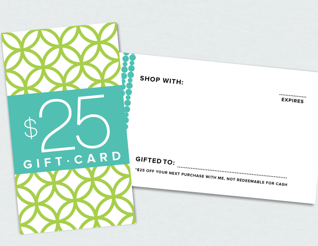 $25 Gift Card (Digital Download)