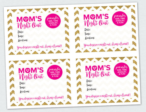 Mom's Night Out Invite (Digital Download)