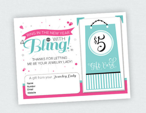 Ring in Bling Card (Digital Download)