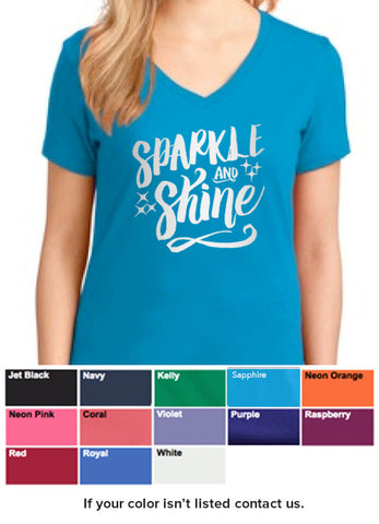 Sparkle and Shine Shirt (Silver Ink)