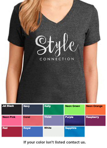 Style Connection T-Shirt (Silver Ink)