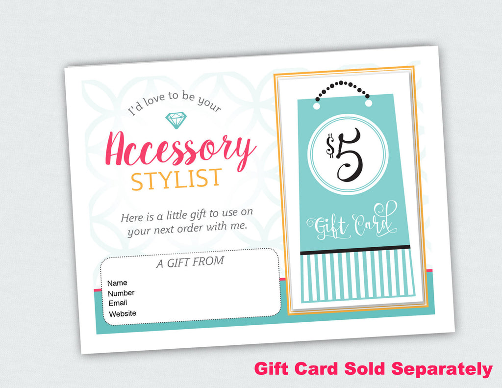 Accessory Stylist and Jewlery Lady Compliment Card (Digital Download)