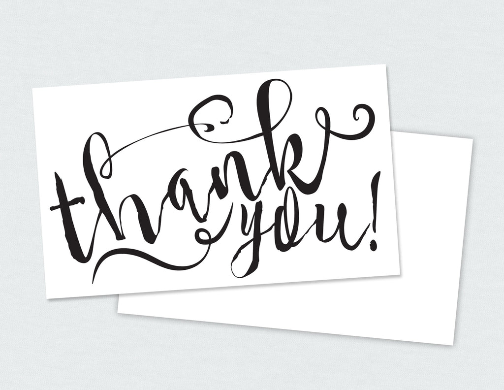Thank you Card (Mini)