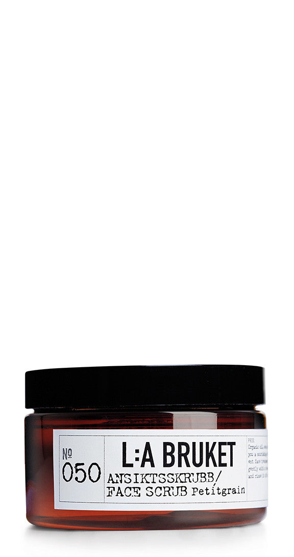 No. 50 Face Scrub Petitgrain 100 ml