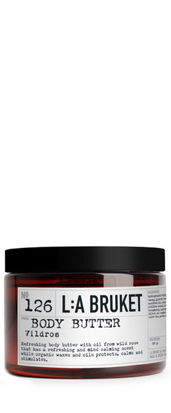 No. 126 Body Butter Wild Rose - Vildros 350gr