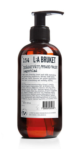 No. 154 Beard Wash Laurel Leaf / Lagerblad 200ml