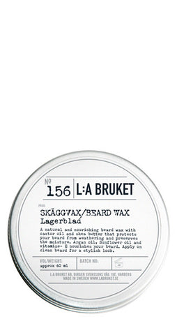 No.156 Beard Wax Laurel Leaf / Lagerblad 60ml