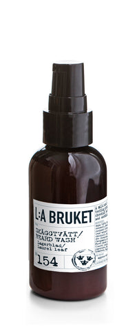 No. 154 Beard Wash Laurel Leaf / Lagerblad 60ml
