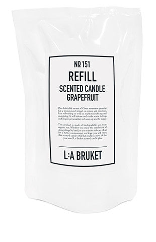 No. 151 - Scented Candle Grapefruit Refill 260gr