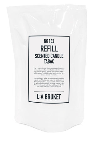 No. 153 - Scented Candle Tabac Refill 260gr