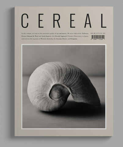 Cereal no.20 | travel & style magazine