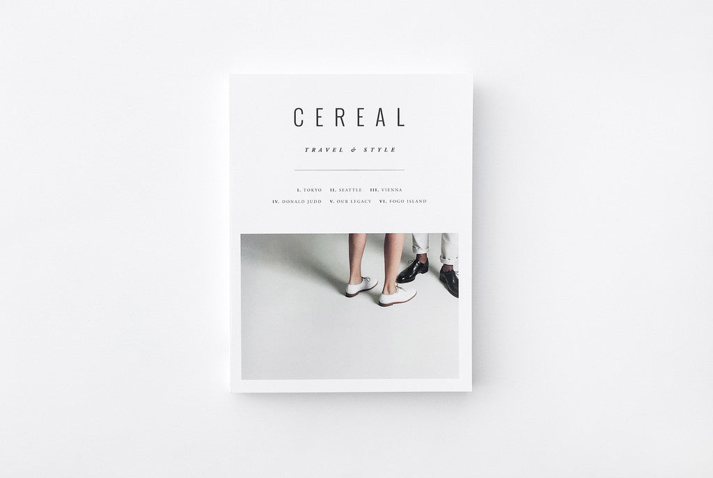 Cereal no.11 | travel & style magazine