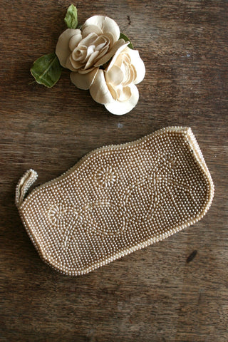 1950's Faux Pearl Evening Clutch