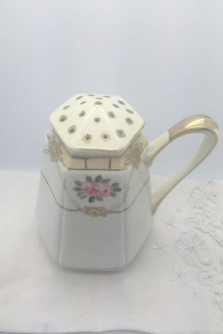 1910's Antique Nippon Gilded Sugar/Cheese Shaker