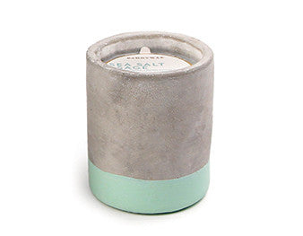 Paddywax Concrete Candle: Sea Salt & Sage 3.5oz