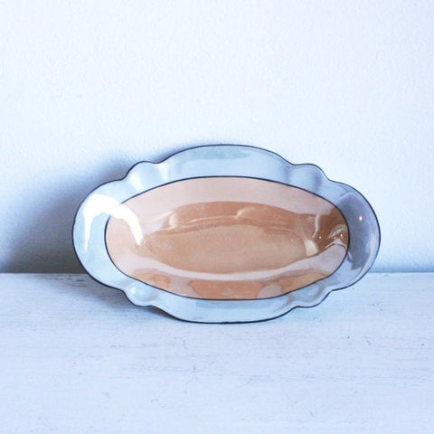 Antique Bavarian Porcelain Candy Dish by L.D.B.Co., Germany