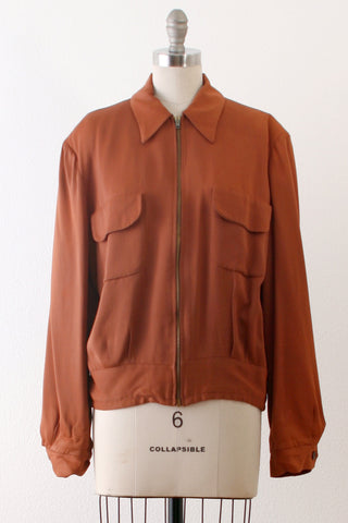 1940's Summers California Buttums Mens Gaberdine Jacket