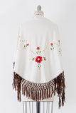 1970's Ecuadorian Embroidered Cape