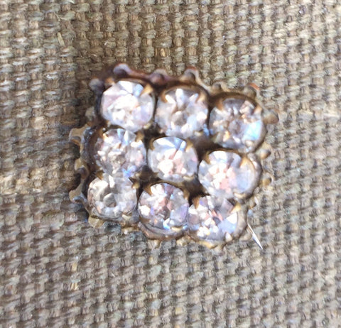 Antique Petit Rhinestone Pin