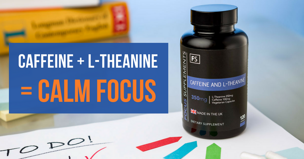 Caffeine and L-Theanine Calm Focus