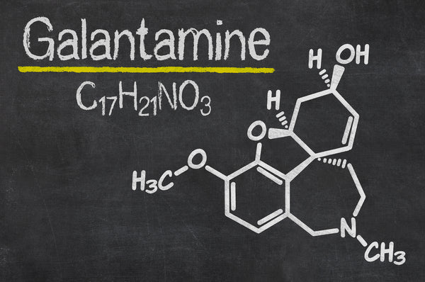 galantamine chemical formula