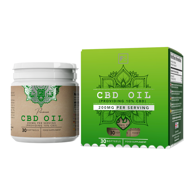 CBD Oil (100mg) Softgels