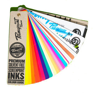 Permaprint Premium Water Based Ink Swatch