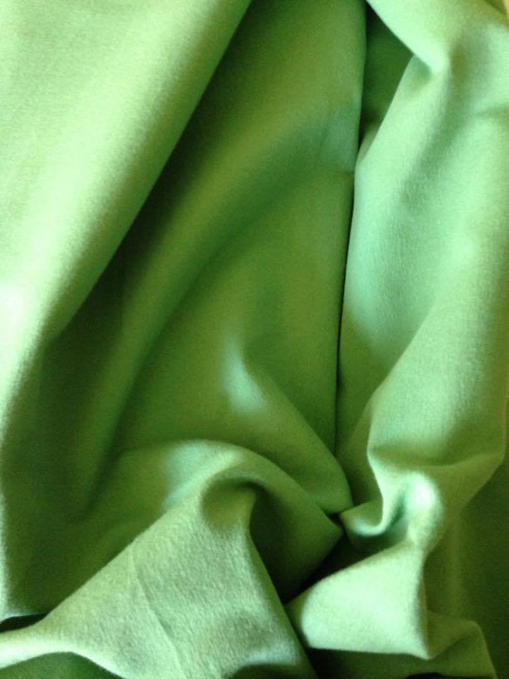 Medium Grass Green 13oz Cotton Lycra