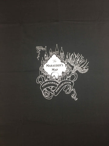 HP Castle custom knit FH size PNL black and white